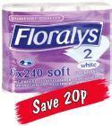 Toilet Paper Lidl by Floralys Luxury Toilet Tissue 9 Rolls 163 1 79 Lidl