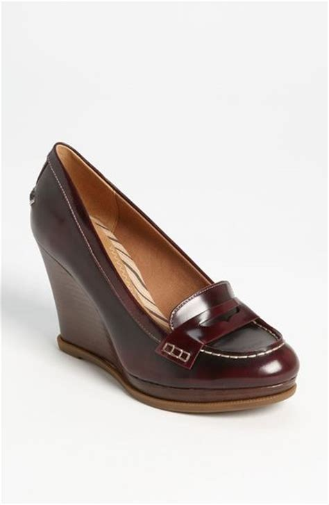 sperry top sider wedge loafer sperry top sider windstar wedge loafer in brown