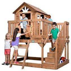Backyard Discovery Scenic Playhouse by The Complete Guide To Outdoor Playhouse Kits