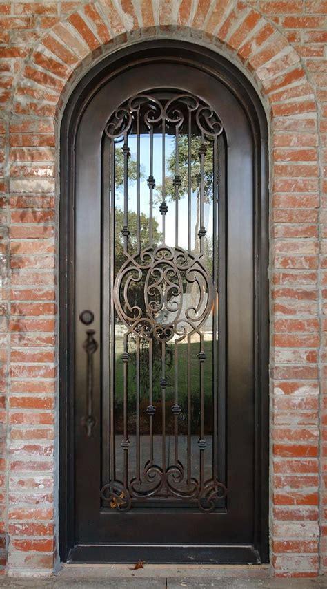 classic wrought iron front door iron doors monarch