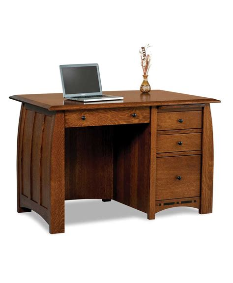 Boulder Creek Small Desk Amish Direct Furniture Amish Desk