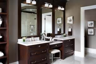 drop make up vanity traditional bathroom