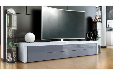 Meuble télé bas laqué design   Trendymobilier.com