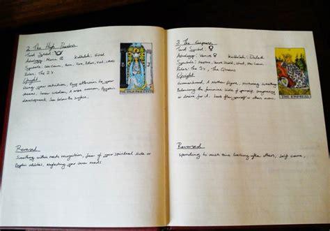 tarot journal template i definitely want to start a tarot journal inspiration