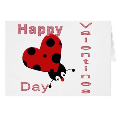 ladybug valentines happy valentines ladybug card zazzle