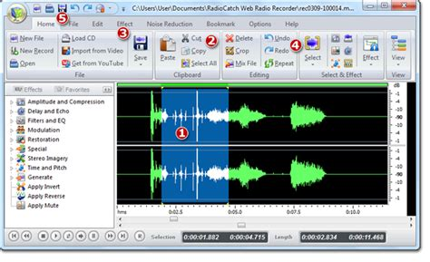 free web recording software radiocatch web radio recorder user guide edit audio files