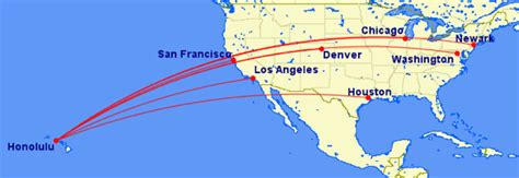 united airlines increasing routes to hawaii adding lie flat honolulu flight school all the best flight in 2018