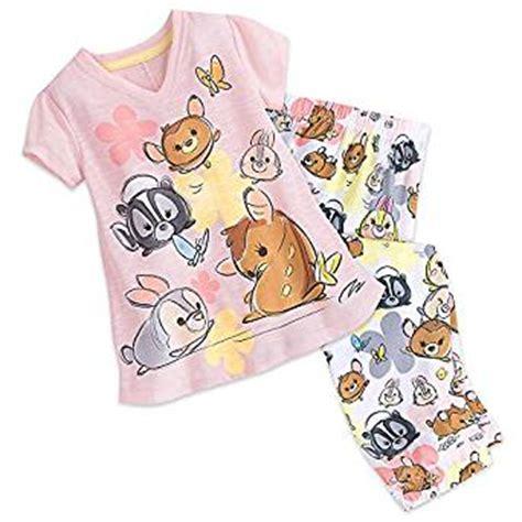 Ori Pajamas Tsum Pink disney and friends tsum tsum sleep set pajamas for tweens pink clothing