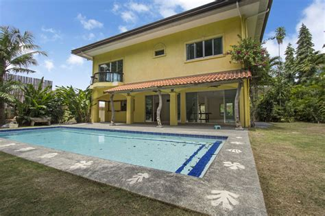 five bedroom houses for rent house with swimming pool for rent in north town cebu