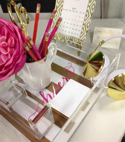 acrylic gold desk accessories gold desk accessories the lucite and gold with the