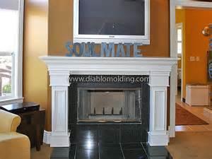 diablo molding and trim company fireplaces