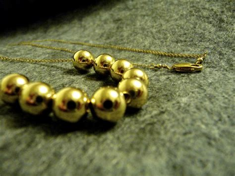 add a bead gold add a bead necklace