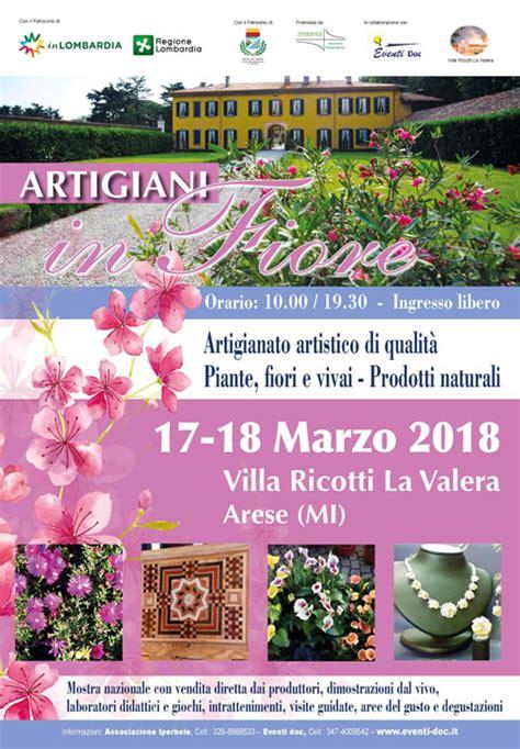 ufficio passaporti via di villa ricotti artigiani in fiore 23 24 marzo 2019 villa ricotti la