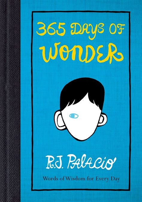 libro 365 days of wonder precepts quotes like success