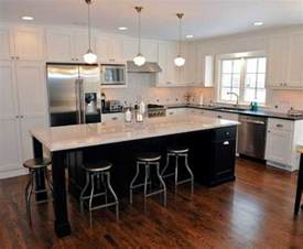 kitchen l shaped island inspiring kitchen island shapes design ideas home