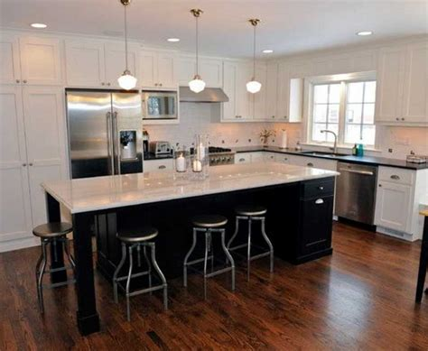 L Shaped Kitchens With Island Inspiring Kitchen Island Shapes Design Ideas Home Interior Exterior