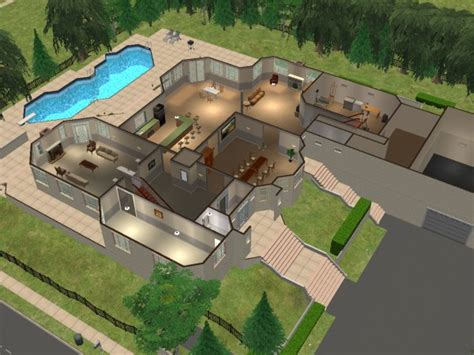 sopranos house mod the sims the soprano residence