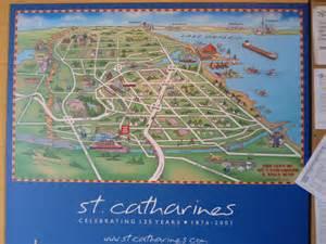 st catharines map 125 years 1875 2001 lock 3 museum