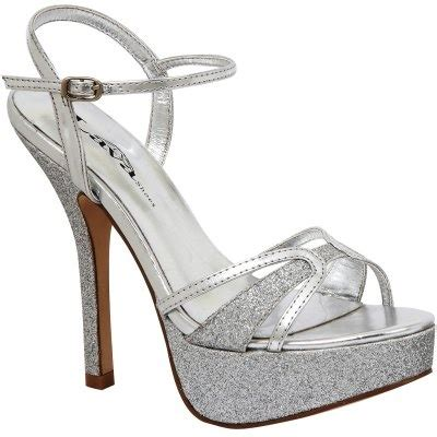 sparkly silver wedding or prom shoes things i for