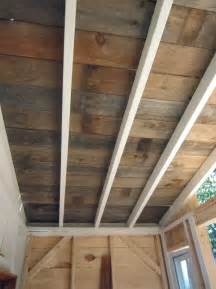 Exterior Ceiling Planks Wood Planks For Ceilings Home Design Ideas