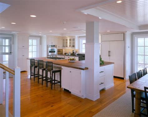 cape and island kitchens spotted from the crow s nest beach house tour cape cod