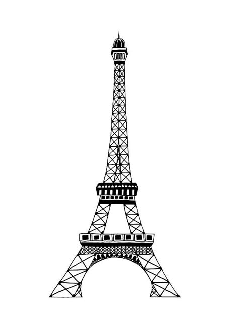 france eiffel tower coloring page france eiffel tower coloring page photo 289127 gianfreda net