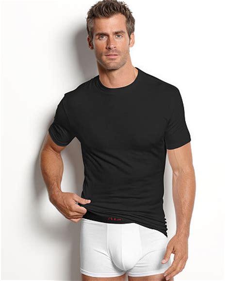 Polo Black Bhn Spndex Fit L alfani s cotton spandex tagless slim fit