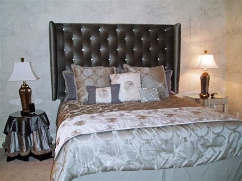 Hollywood Glam Bedroom | hollywood glamour inspired guest bedroom final