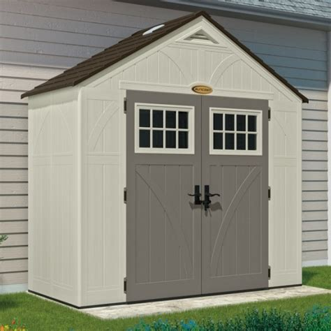 tremont 8ft x 4ft door plastic shed