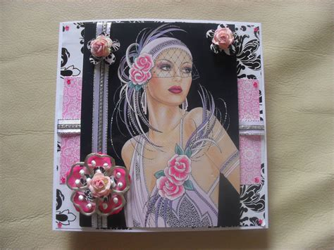 art deco lady l july 2010 creativity art blog iartsupplies co uk dundee
