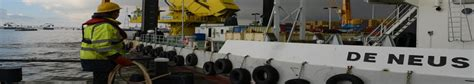 maritieme dienstverlening afvalinzameling binnenvaart port of antwerp