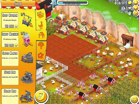 Coffee Kiosk Hay Day hay day sauce maker sushi bar salad bar winter