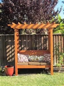 Arbor Bench Plans Arbors Amp Benches On Pinterest Arbors Bench Swing And