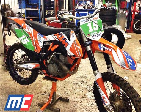 Ktm Sx 50 Aufkleber by Custom Ktm Decal Design Motocal Motor Racing Decals