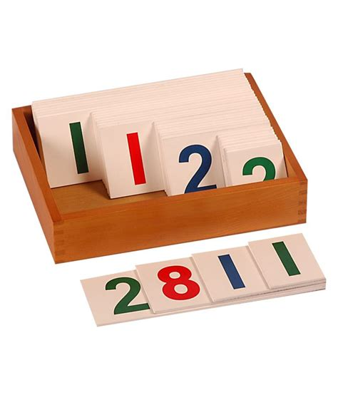printable montessori number cards kidken montessori large number cards 1 to 9000 buy