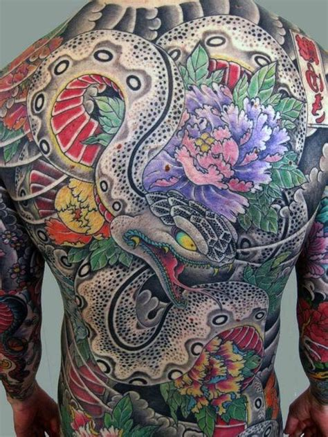 80 japanese snake tattoo design for men cool ink ideas