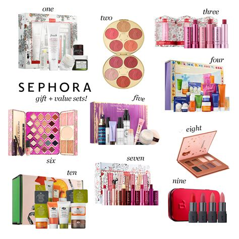 sephora gift sets 10 amazing gift value sets from sephora and