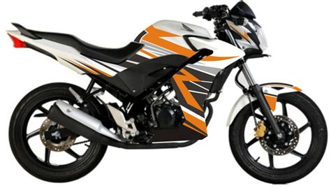Striping Motor Honda Cb 150 R 2014 honda cb150r striping terbaru
