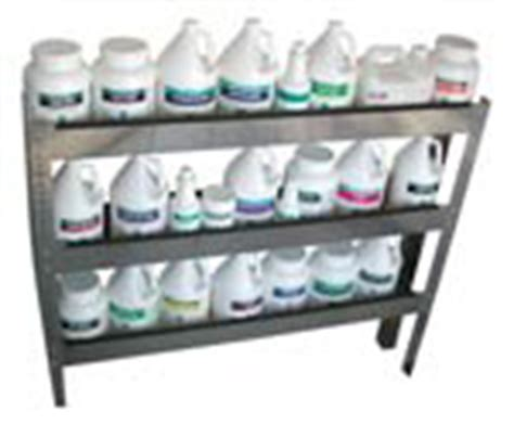 Chemical Shelf by Chemical Storage Shelf Carpet Cleaning Equipment