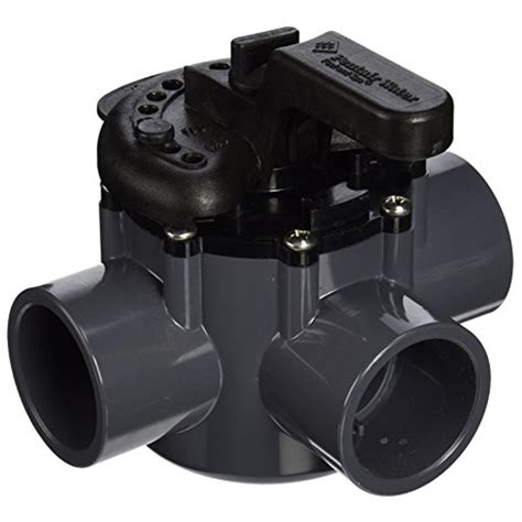 3 Way Valve 1 5 pentair 3 way pvc diverter valve 1 5 2