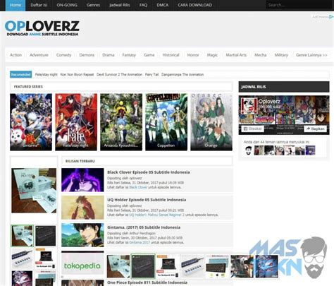7 Anime Website by 7 Website Anime Subtitle Indonesia Terbaik Terupdate