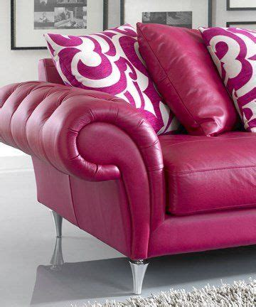 burlesque sofa burlesque pink leather sofa at www sofaworks co uk