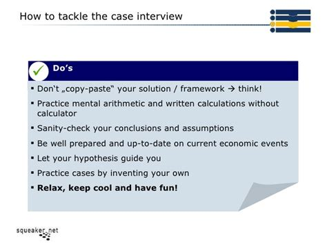 how to ace your case study interview by thinking aloud economic consulting case study interview