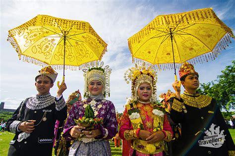 Ikat Kepala Gandi Palembang Aceh fitinline pakaian adat aceh