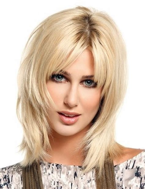 hairstyles with uneven bangs medium shag hairstyles for thin hair short hairstyle 2013