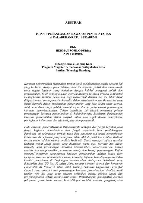 abstrak ng thesis tagalog abstrak tesis prinsip perancangan kawasan pusat pemerintahan
