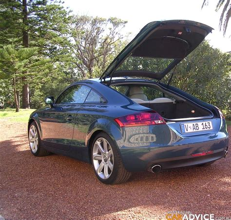 Audi Tt Road Test by 2007 Audi Tt Coupe 3 2 Quattro S Tronic Road Test Caradvice