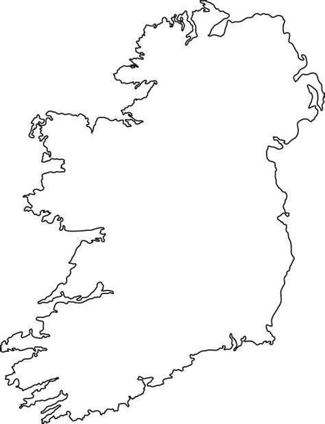 Ie Map Area Outline 25 best ideas about ireland on gaelic tattoos and