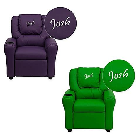 personalized kids recliners flash furniture personalized kids recliner buybuy baby