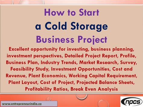 how to start home design business how to start a cold storage business project excellent